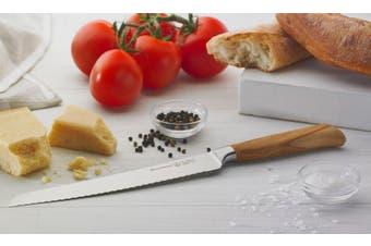 Messermeister Oliva Elite Scalloped Bread Knife 23cm