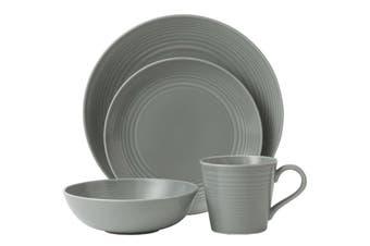 Royal Doulton Gordon Ramsay Maze Dark Grey 16pc Dinner Set