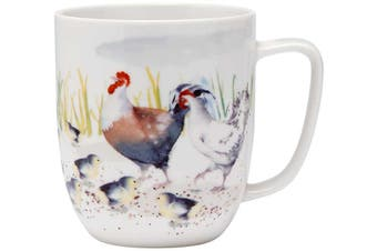 Ashdene Country Chickens Family Mug 350ml