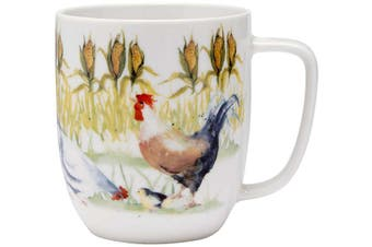 Ashdene Country Chickens Corn Field Mug 350ml