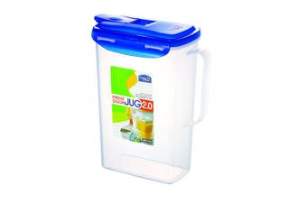Lock & Lock Rectangular Water Jug 2L (HPL735)