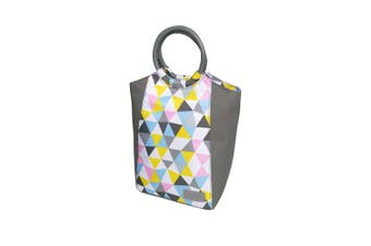 Sachi Style 229 Insulated Lunch Bag Triangle Mosaic