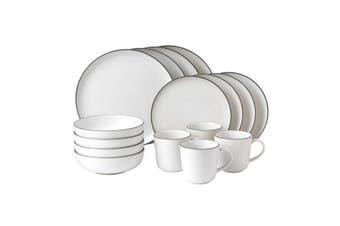 Royal Doulton Gordon Ramsay Bread Street White 16 Piece Dinner Set