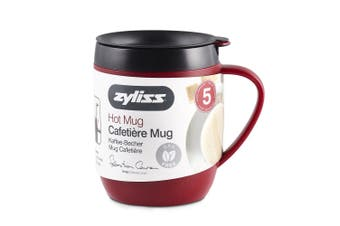 Zyliss Hot Mug and Coffee Plunger with Lid