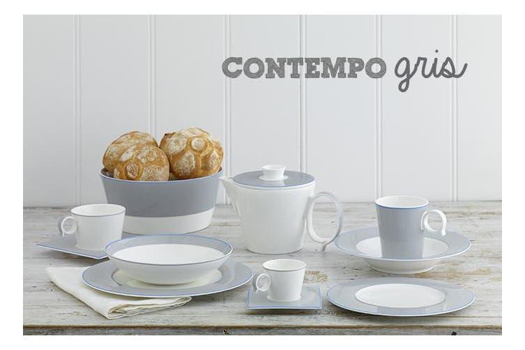Noritake Contempo Gris Tea Pot 1.1L