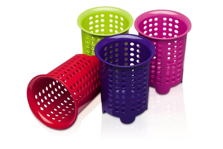 Zeal Melamine Cutlery Drainer Mixed Colours