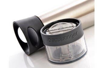 AquaZinger Grey 590ml Water Bottle