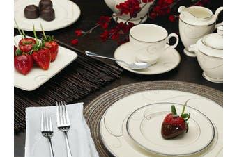 Noritake Platinum Wave 20pc Dinner Set