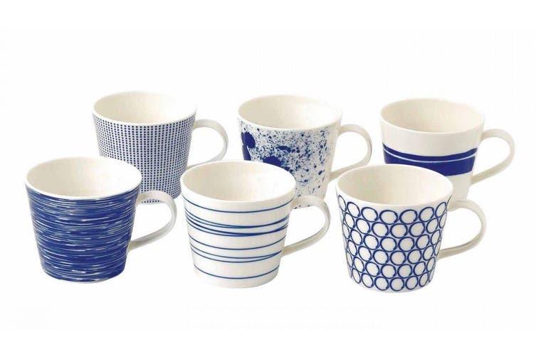 Royal Doulton Pacific Set of 6 Mugs