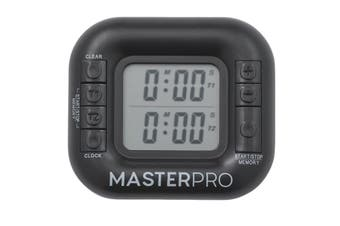 MasterPro Digital Dual Timer 99 Min 30 Seconds