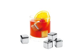 Avanti Stainless Steel Ice Cubes Set of 4