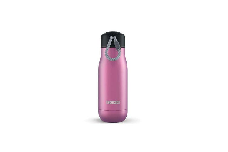 Zoku Stainless Steel Bottle 350ml Purple