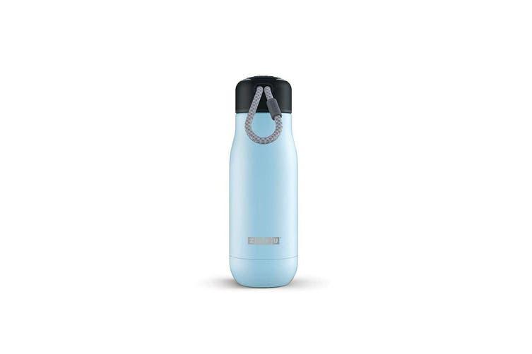 Zoku Stainless Steel Bottle 350ml Light Blue
