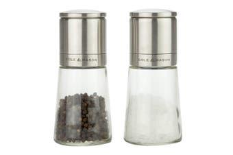 Cole & Mason Clifton Glass Salt & Pepper Gift Set
