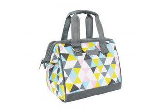 Sachi Insulated Lunch Bag Triangle Mosaic