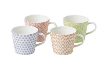 Royal Doulton Pastels Mug Set 4 Piece 365ml
