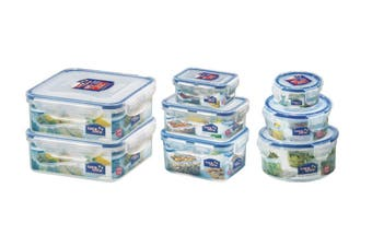 Lock & Lock Classic Container Set of 8