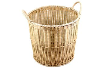 IconChef Woven Laundry Basket With Handle