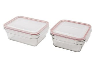 Glasslock Oven Safe Food Container Set of 2