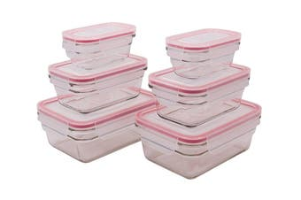 Glasslock Oven Safe Food Container Set of 6