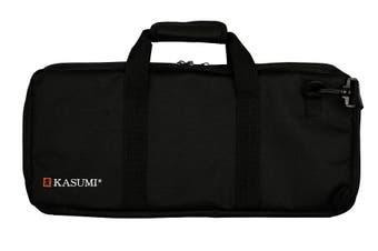 Kasumi Knife Roll 18 Pockets Black