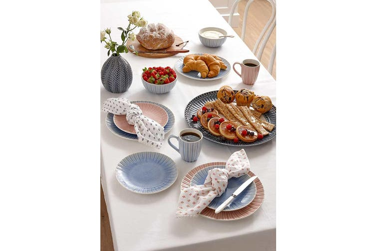 Ladelle Mia Grey Side Plate Set of 4