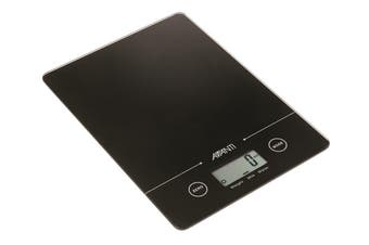 Avanti Compact Digital Kitchen Scale Black