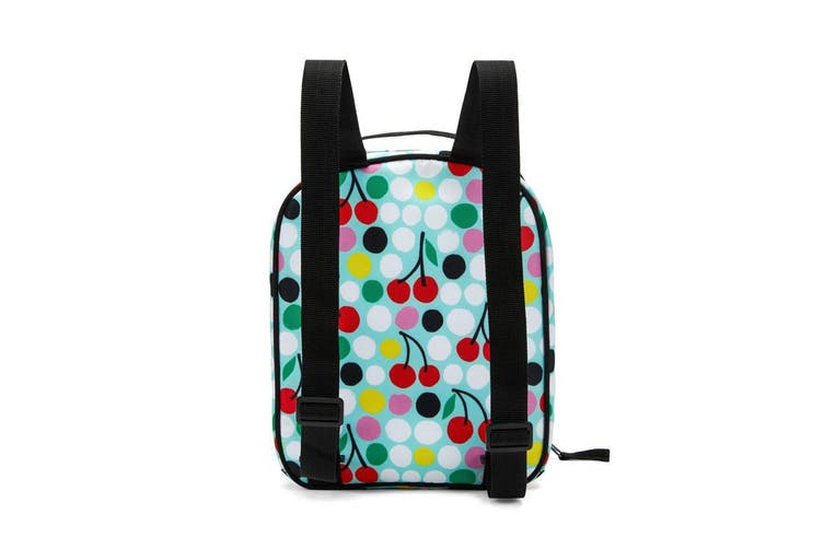Packit Freezable Upright Backpack Cherry Dots