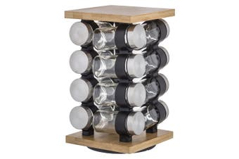 Davis & Waddell Romano Spice Jar with Rack 27cm Set of 16