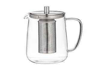Leaf & Bean Oslo Glass Teapot with Infuser 1L
