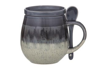 Davis & Waddell Ritual Reactive Hug Mug Grey 500ml 3-Piece Set