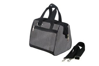 IconChef Easy Pack Houndstooth Lunch Bag