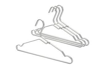 Brabantia Aluminium Clothes Hanger Set of 4 Silver
