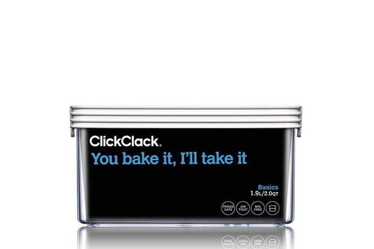 ClickClack Basics 900ml Grey