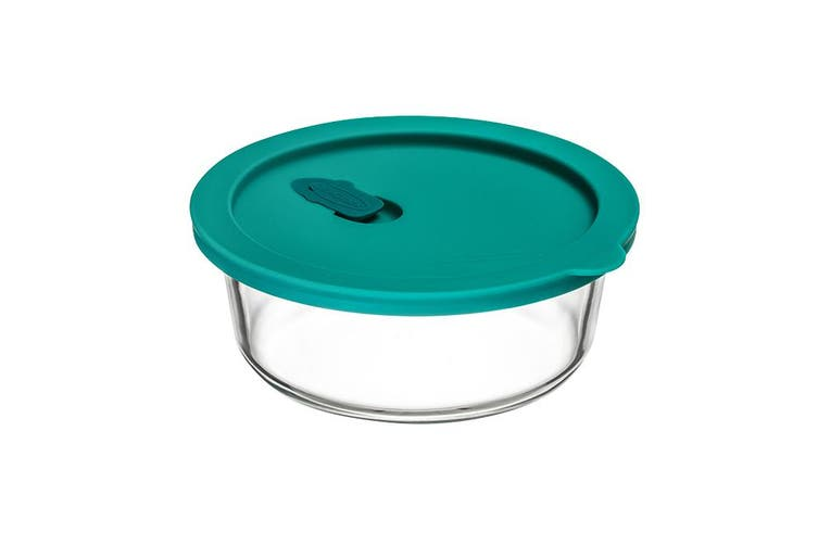 ClickClack Cook+ Round 600ml Teal