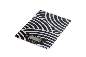Accura Hypnos Electronic Kitchen Scale 5kg Black & White