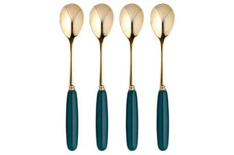 Ashdene Parisienne Teaspoon Midnight Green Set of 4