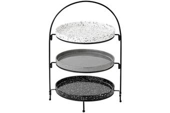 Ladelle Terrazzo 3 Tier Round Serving Tower