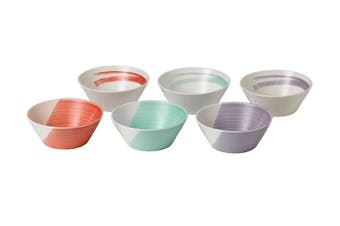 Royal Doulton 1815 Bold Collection Cereal Bowls 16cm Set of 6