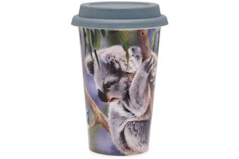 Ashdene Fauna of Aus Koala & Wren Travel Mug 310ml