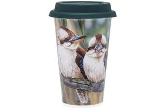 Ashdene Fauna of Aus Kookaburras Travel Mug 310ml