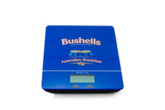 Bushells Digital Kitchen Scales Tempered Glass 5kg