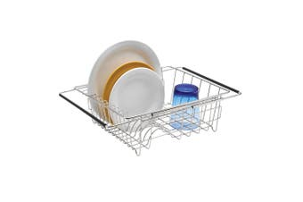 Polder Stainless Steel Expandable In-Sink Dish Rack 35cm