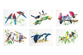 Ashdene Birds of Australia Placemat set of 6 29cm