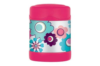 Thermos FUNtainer Stainless Steel Vacuum Insulated Food Jar Flower 290ml