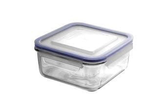 Glasslock Square Tempered Glass Food Container 850ml