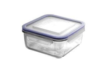 Glasslock Square Tempered Glass Food Container 1180ml