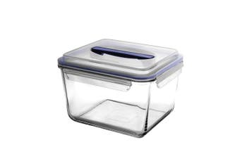 Glasslock Handy Rectangular Tempered Glass Food Container 3700ml