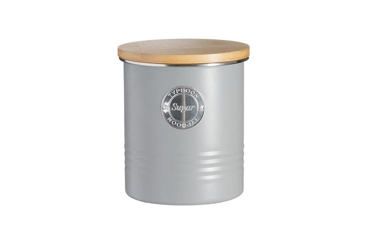 Typhoon Living Sugar Canister 1L Grey
