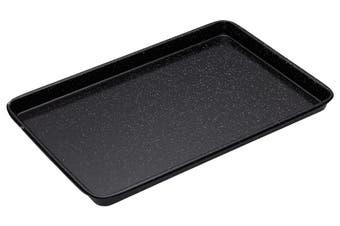 Bakemaster Vitreous Enamel Baking Tray 39x27x2cm